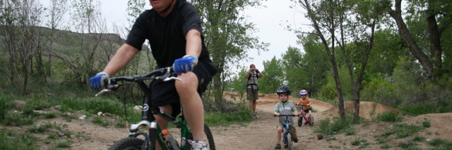 family fun at golden bike park