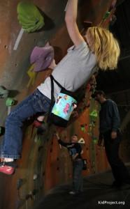 Girls chalk bag
