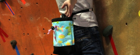 custom kids chalk bags
