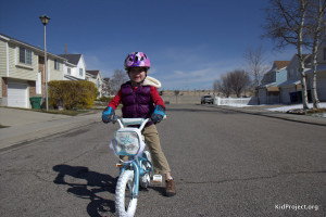 moving from a balance bike