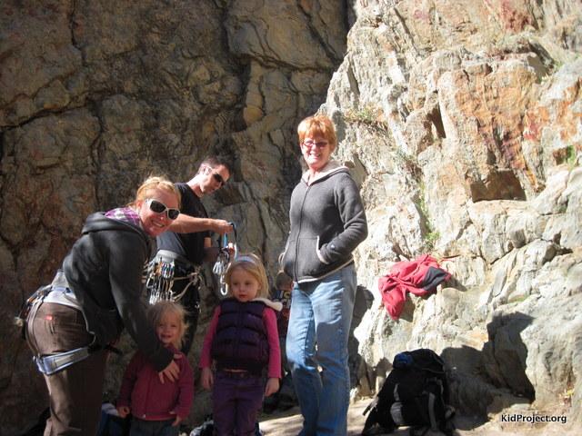 Family at Reservoir Ridge