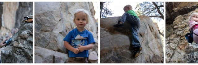 climbing with kids