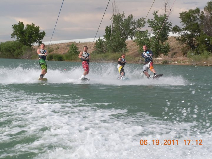 Waterskiing Part 2   A practical look at lake living
