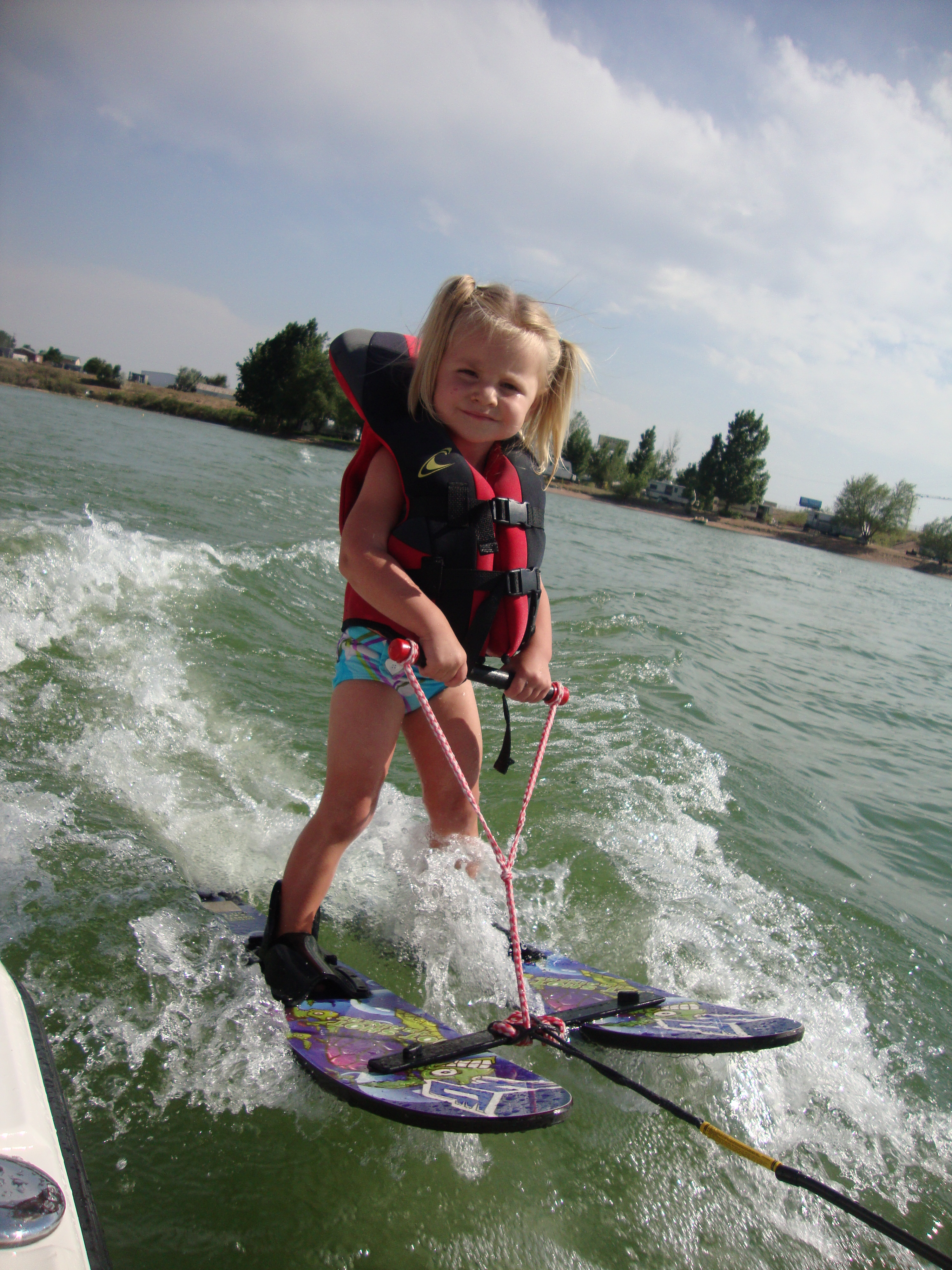 Kids Water Skis >> Waterskiing A Family Portrait The Kid Project