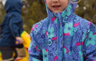 REI kids rain jacket