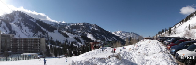 Panoramic of Snowbird