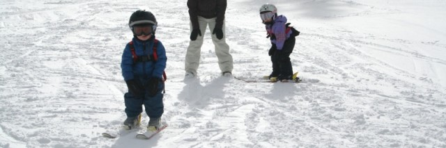 Teaching toddlers to ski, Solitude Ski Area