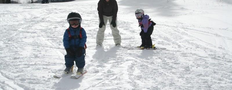 Teaching toddlers to ski, Solitude Ski Area