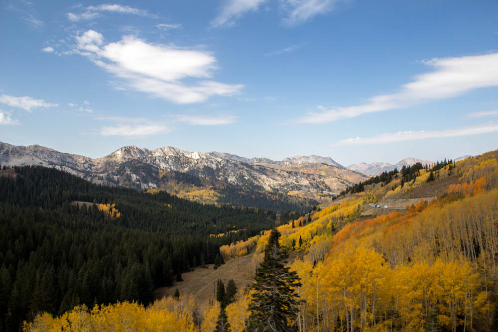 Guardsman Pass, autumn