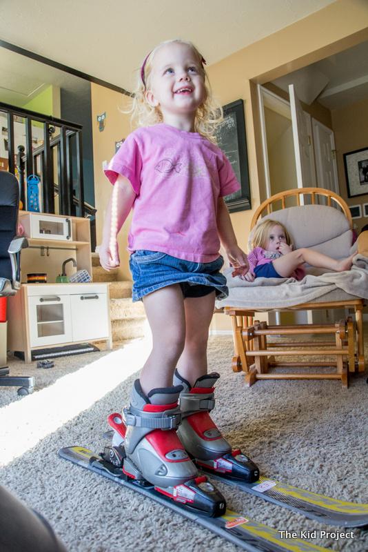 fitting ski boots kids