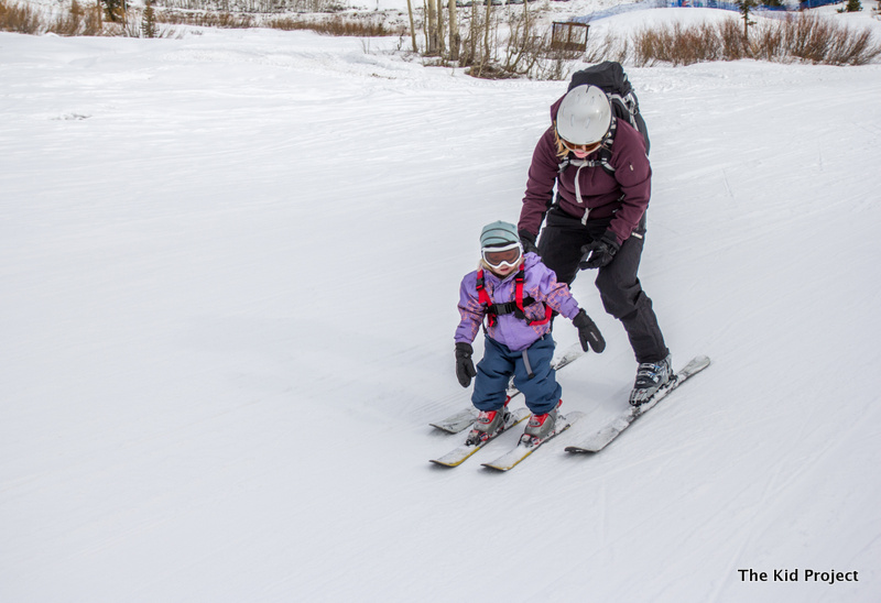 Layering your toddler for skiing
