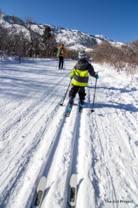 Where to go cross country skiing with kids