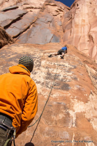 Brown Banana, Climbing near Moab