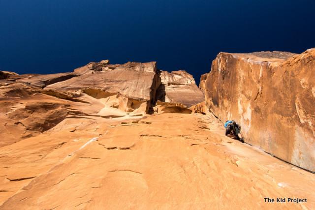 30 Seconds Over Potash, climbing Moab, UT