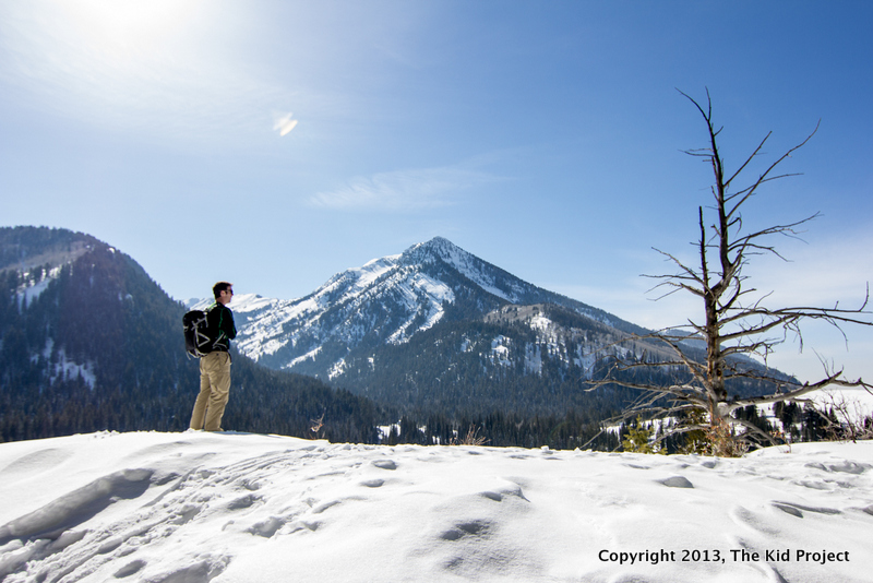 Wasatch Range - snowshoeing trails