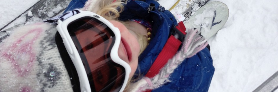 Skiing with kids, Edgie Wedgie