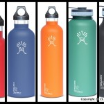 Hydroflask water bottle, thermos, or beer growlers.
