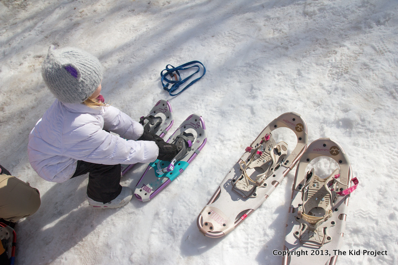 Tubbs snowshoes for whole family