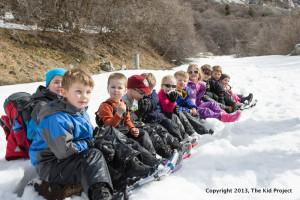 snowshoeing field trips