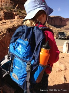 Deuter Junior backpacking - very versatile