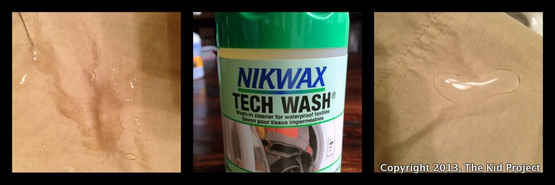 Nikwax Tech Wash - washing outdoor clothing