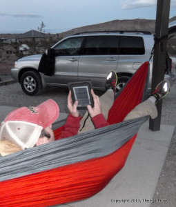 Eno in red Rocks - Hammocks for car camping