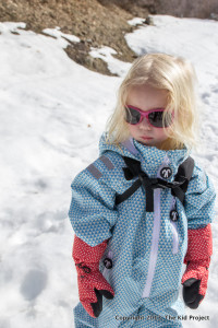 DucksDay snowsuit with mittens
