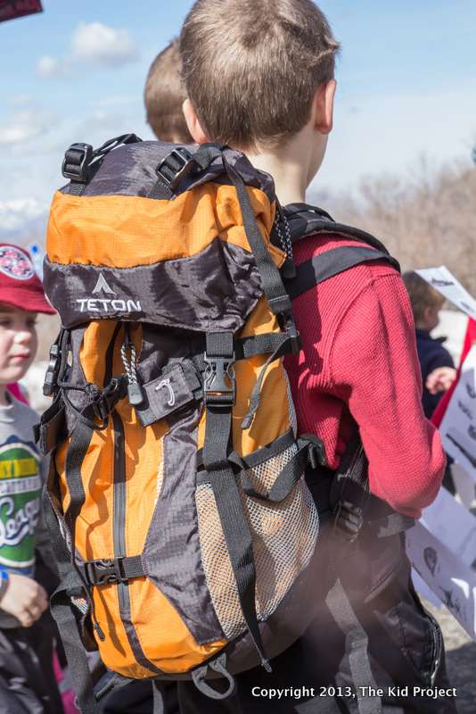 kid wearing Summit 1500