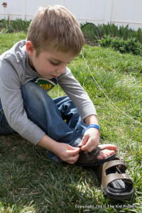 Birki outdoor sandals for kids