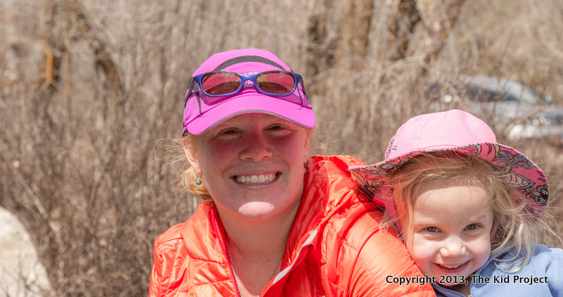 mom and daughter, Millcreek Canyon