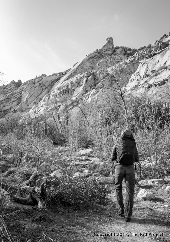 LLC Utah, climbing approach