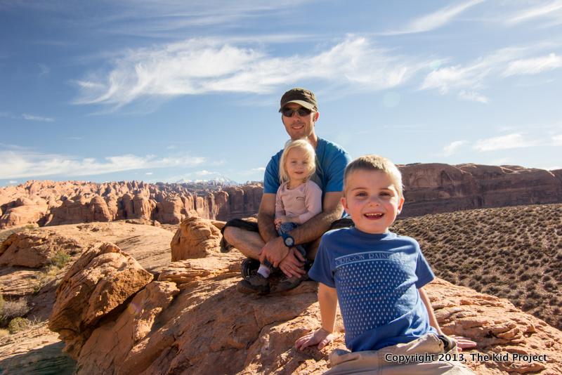 Moab, Utah Poison Spider trail