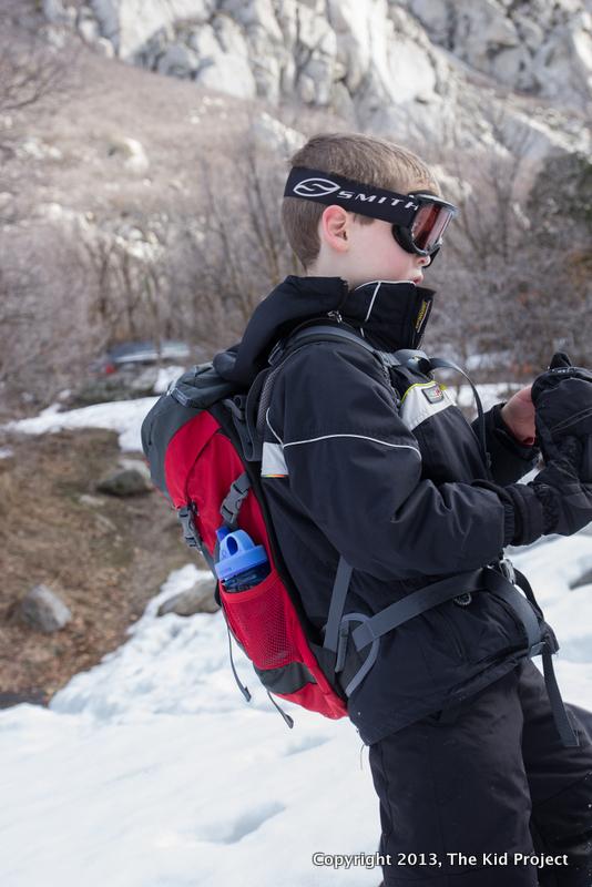 Deuter Climber Pack - snowshoeing