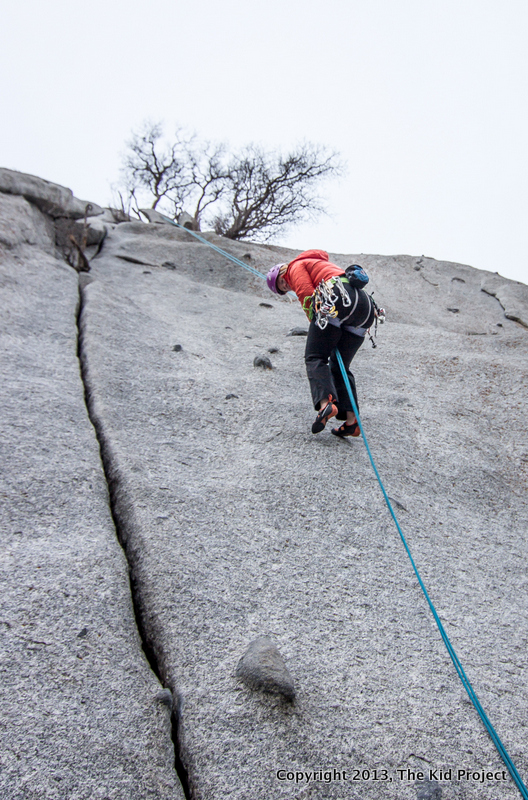 Utah rock climbing, ISIS for Women