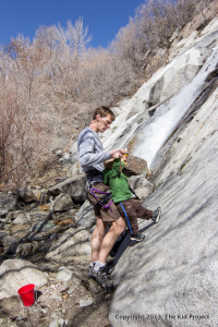 Lisa Falls for family hiking or climbing