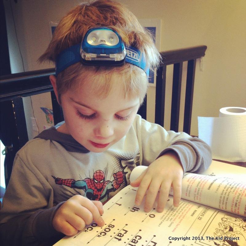 Learning to read - preschool