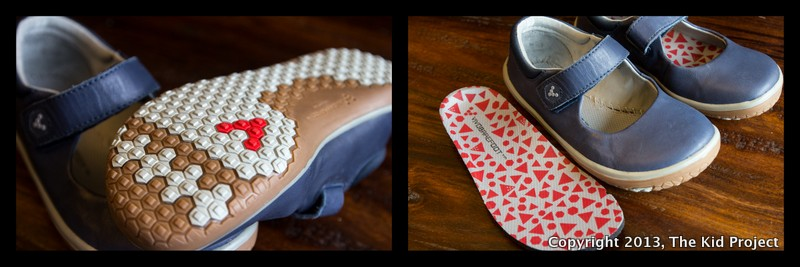 Vivo Pally's barefoot shoe