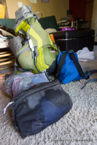 packing for backpacking trips