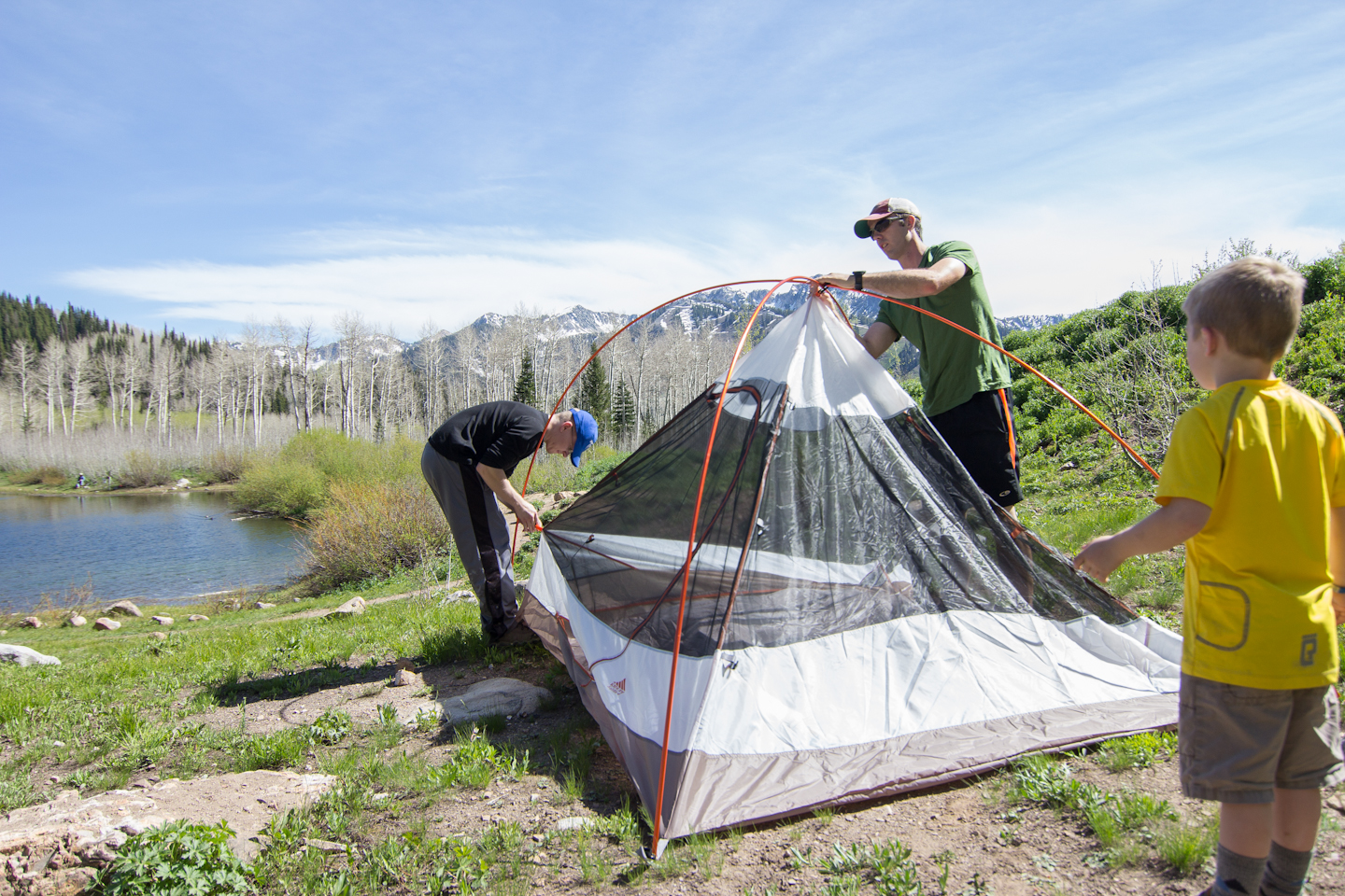 ... set up Kelty Salida 4 & Gear review: Kelty Salida 4 Tent - the kid project