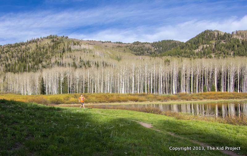 trail running, willow Heights Utah