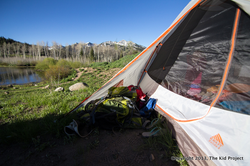 Kelty Salida 4 in back country