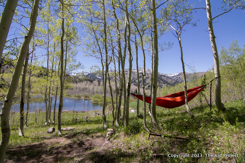 ENO Hammock camping, backcountry