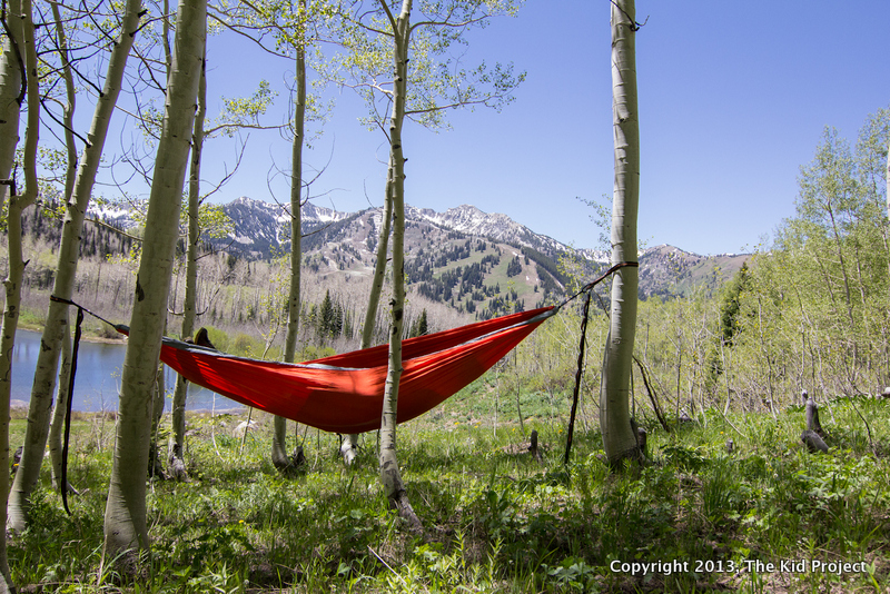 ENO hammock for backpacking