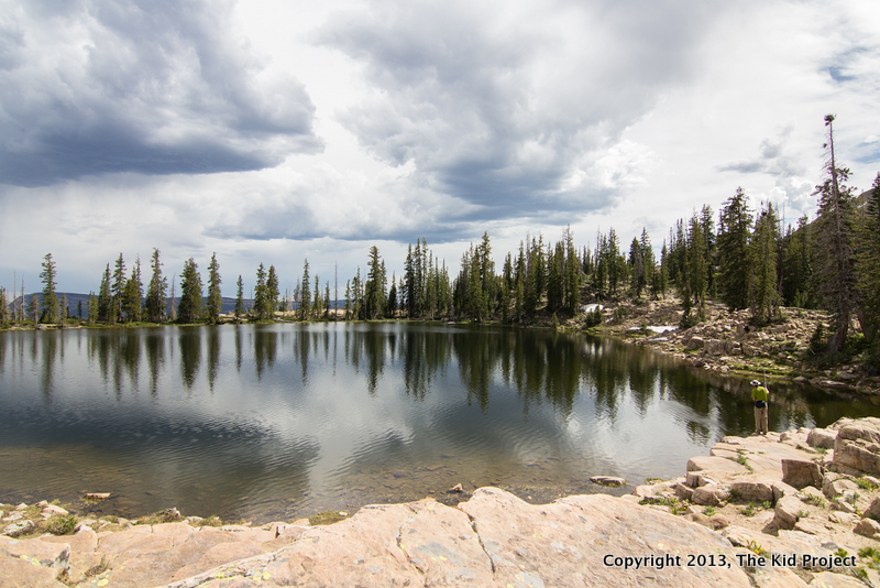 East Twin Lake, Uintas