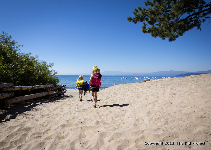 North lake tahoe beach