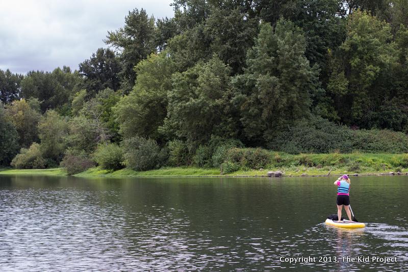 river SUP in Oregon