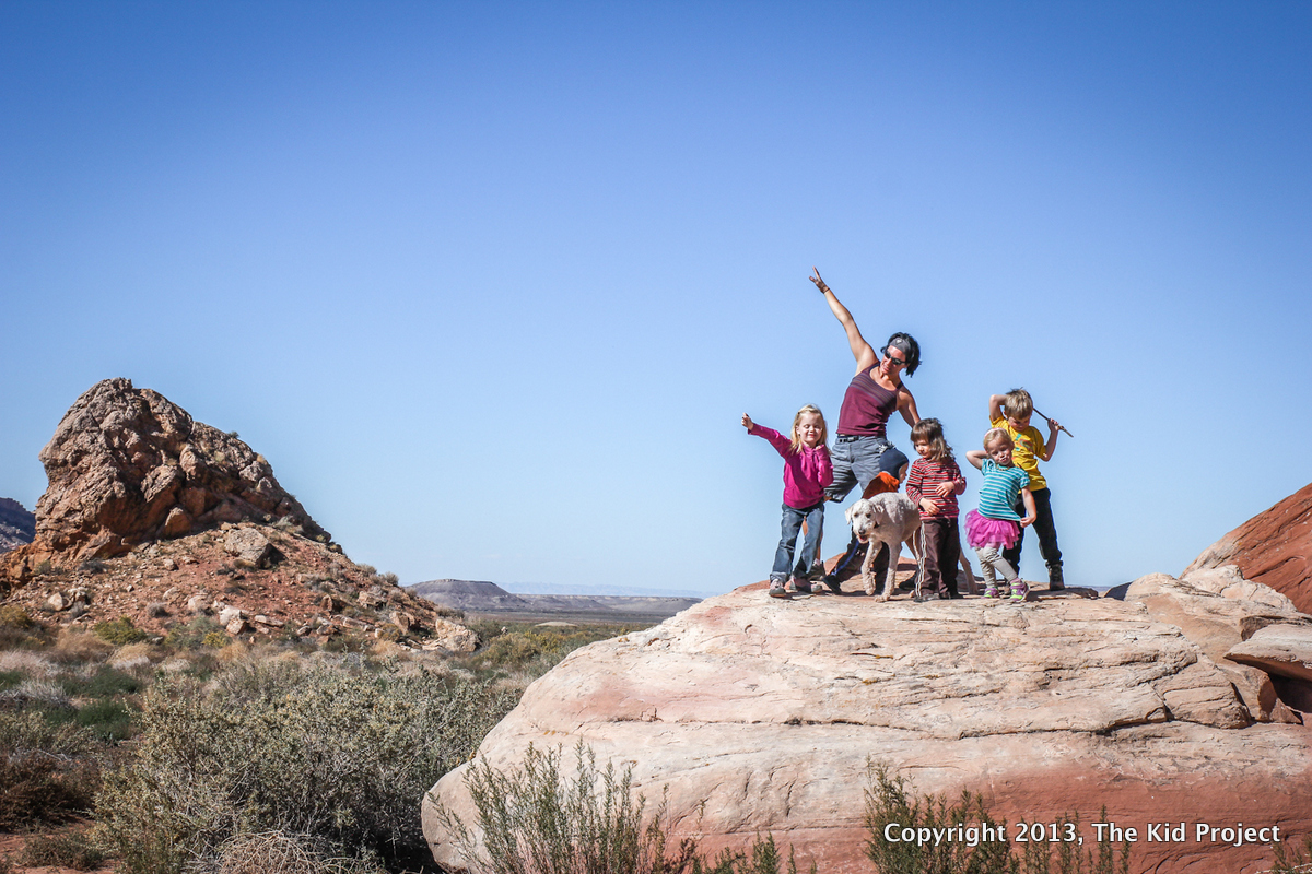 Stike a Pose, Outdoor kids in southern Utah