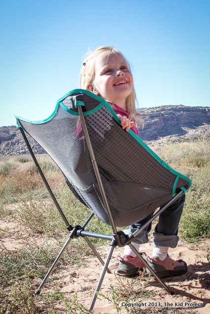 Joey Chair for camping and backpacking