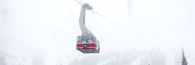 The tram at Snowbird Resort, full res