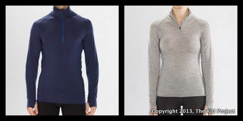 I/O Merino Altitude long sleeve zip